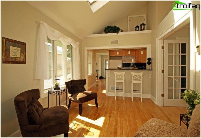 Diseño de cocina-sala de estar - foto 3