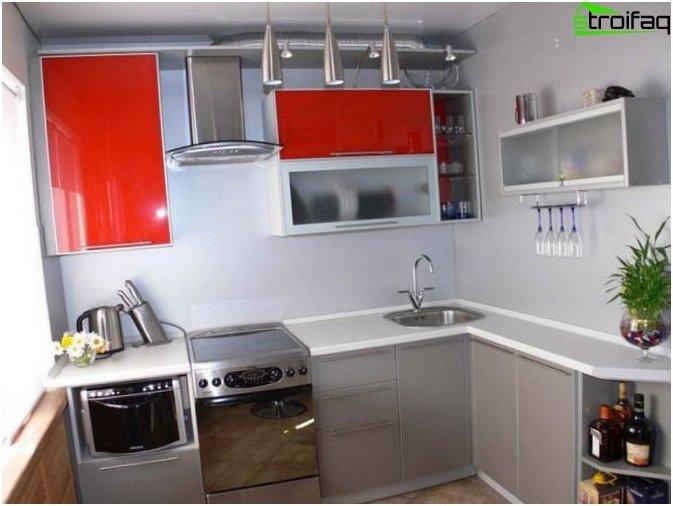 Cucina design di piccole dimensioni 4