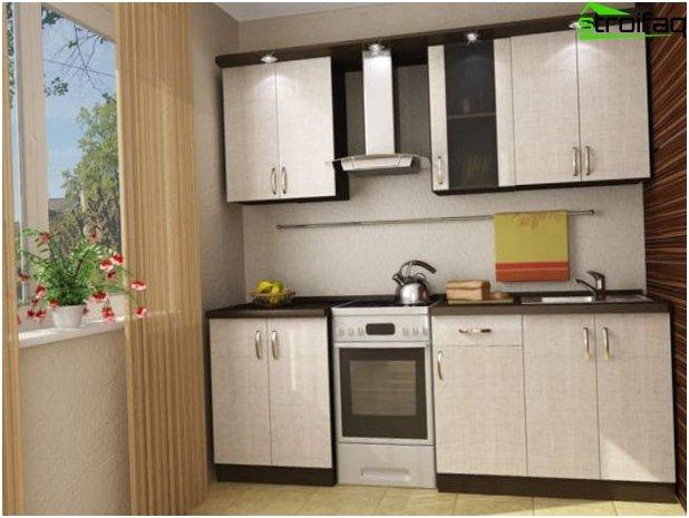 Cucina design di piccole dimensioni 5