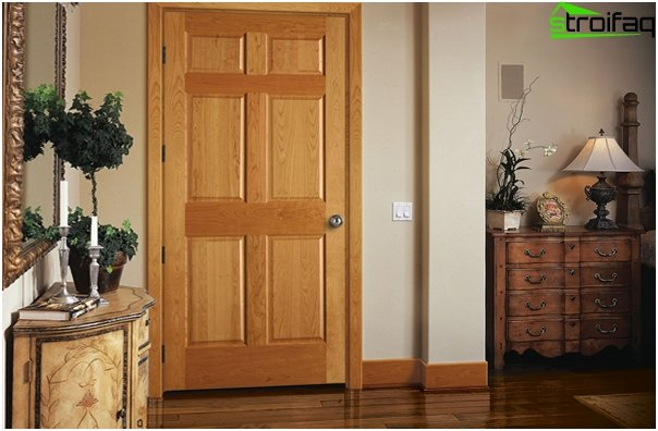 Puertas de madera maciza - 04