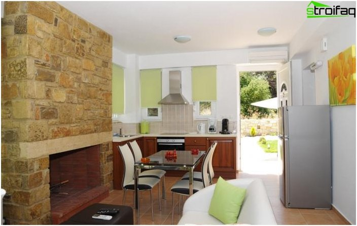 Diseño de la cocina-sala de estar - foto 5