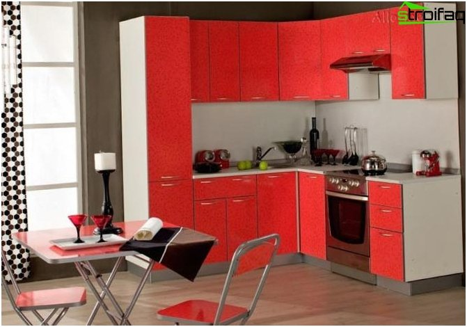 Cucina design di piccole dimensioni 6