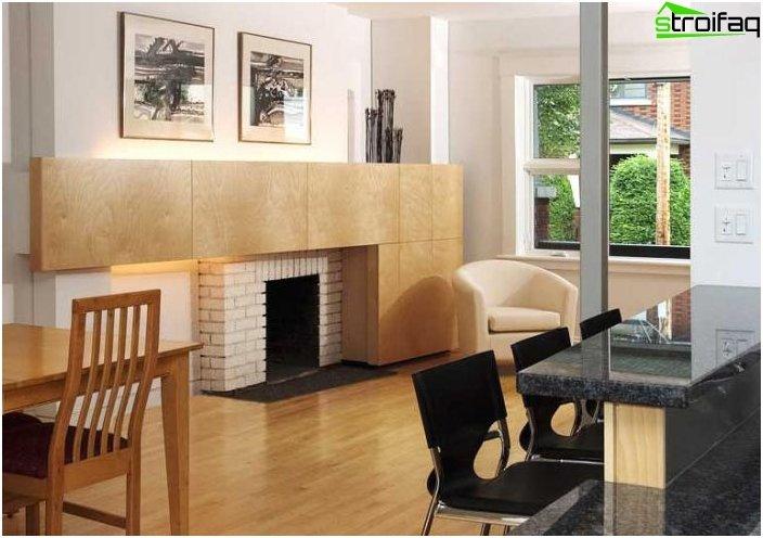 Diseño de cocina y sala de estar - foto 6