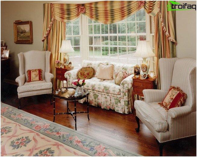 English curtains - photo 1