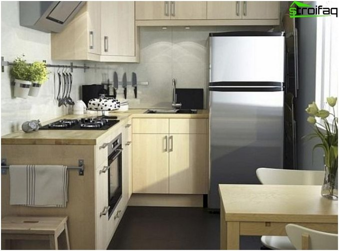 Repair of a typical kitchen 3
