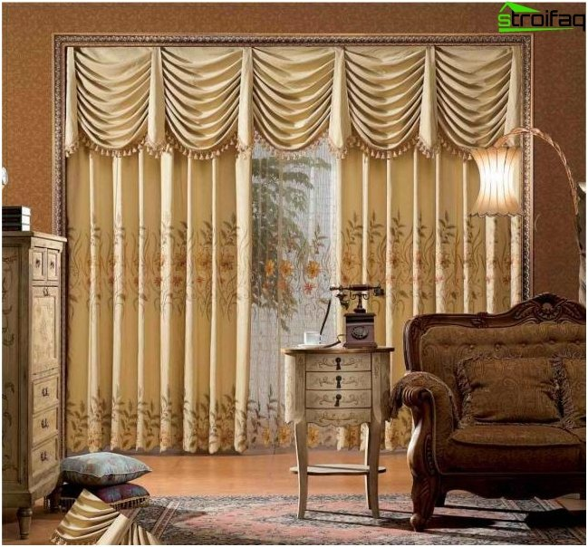 French style curtain design photo 3