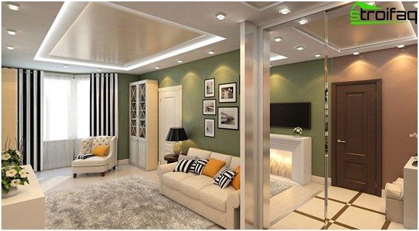 Gestaltung der Wohnung 2016 (Zweizimmerwohnung) - 1