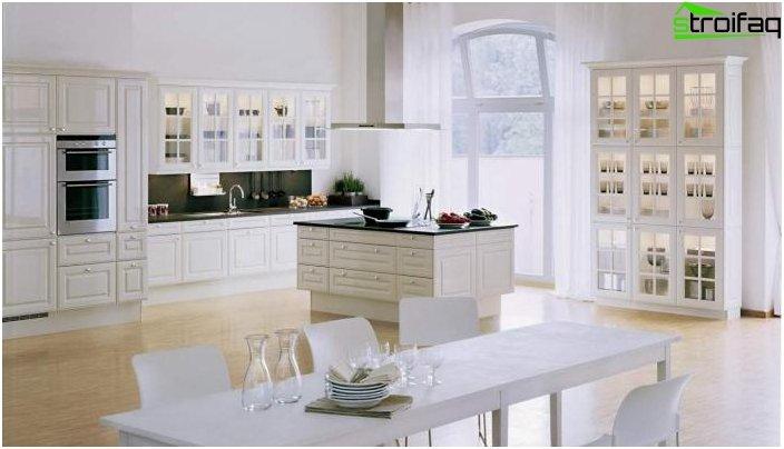 Дизайн на кухнята-хол - снимка 25