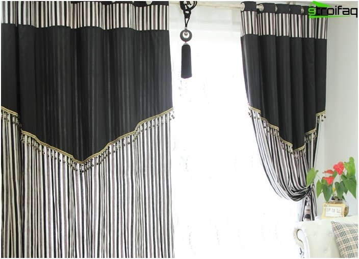 Fashionable curtains - the favorites of 2016 1