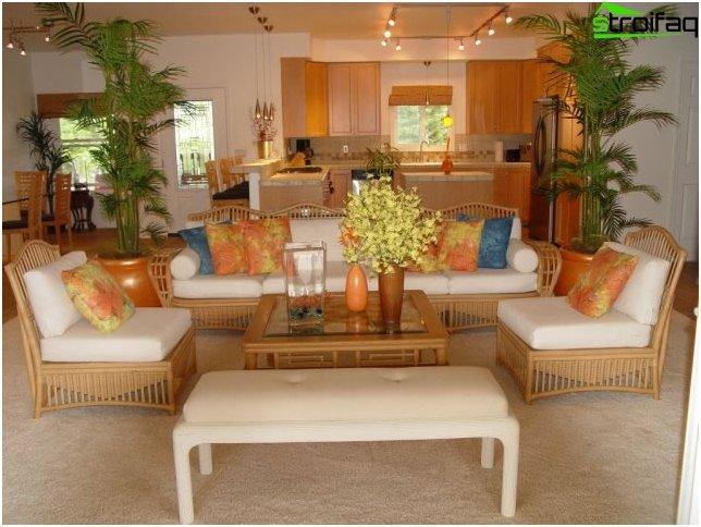 Diseño de la cocina-sala de estar - foto 26