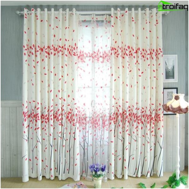 Fashionable curtains - favorites of 2016