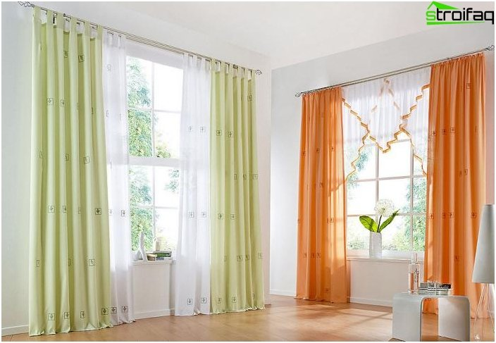 Fashionable curtains - favorites of 2016 5