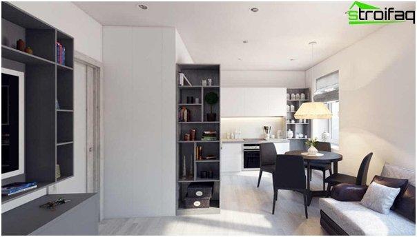 Gestaltung der Wohnung 2016 (Chruschtschow) - 1