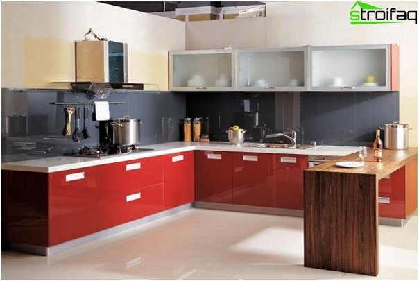 Complete kitchen (U-shaped layout) - 2