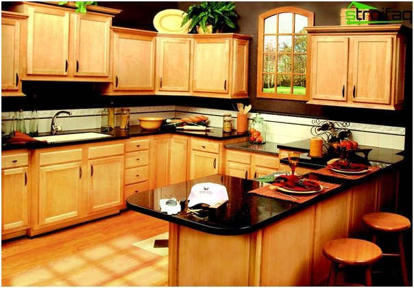 Complete kitchen (U-shaped layout) - 3