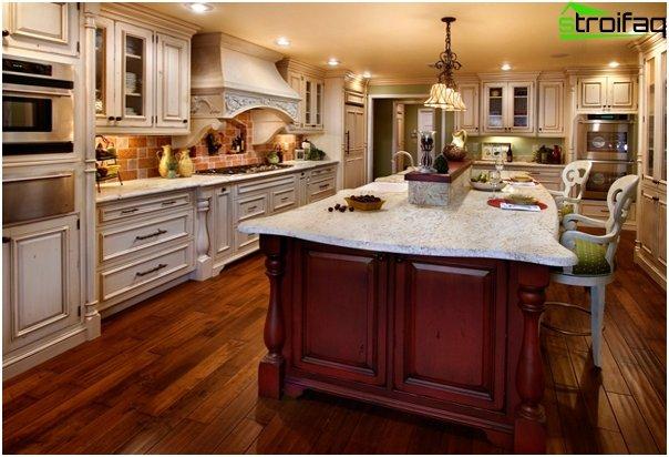 Classic-style kitchen -4
