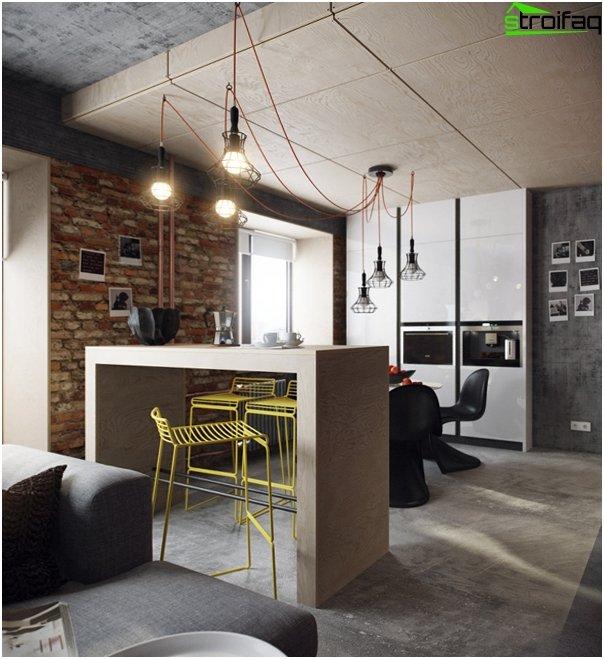 Gestaltung der Wohnung 2016 (Dachboden) - 1