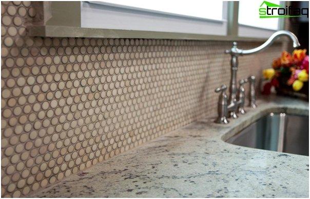 Fliesen für die Küche (Mosaik) - 1