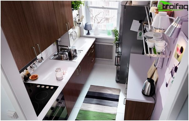 Kitchen (5-6 sq.m) - 2