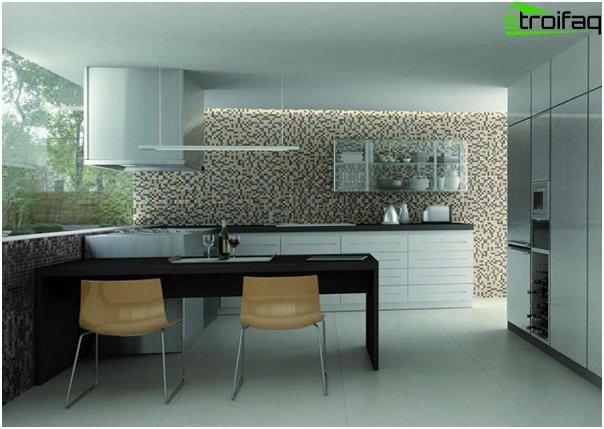 Fliesen für die Küche (Mosaik) - 3