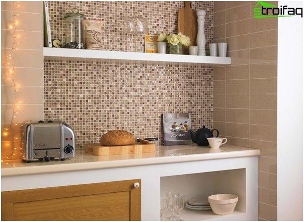 Fliesen für die Küche (Mosaik) - 4