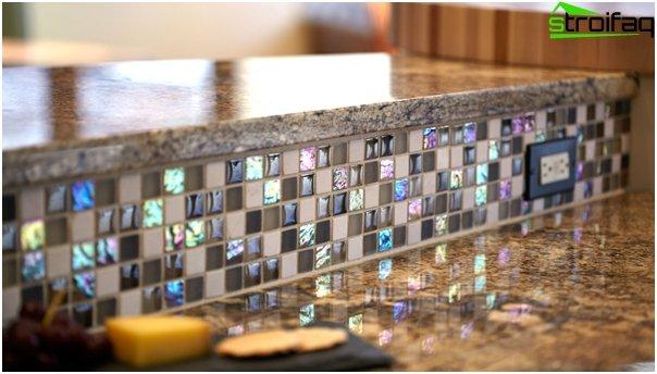 Fliesen für die Küche (Mosaik) - 6