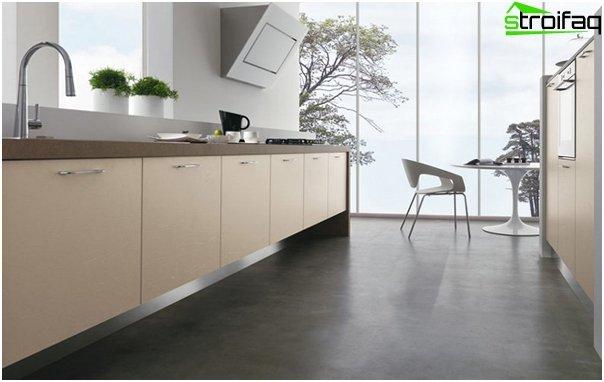 Køkken i minimalistisk stil - 6