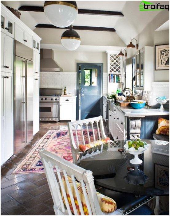 Ethnic style kitchen - 1