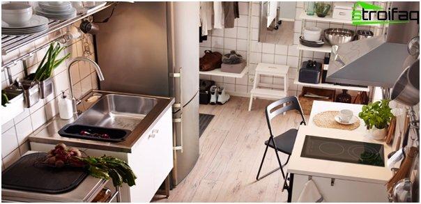 Ikea - 1: n keittiökalusteet