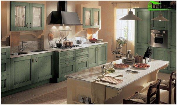 ห้องครัวสไตล์โปรวองซ์ - 1