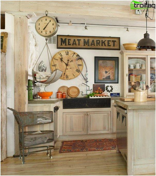 Provence style kitchen -3