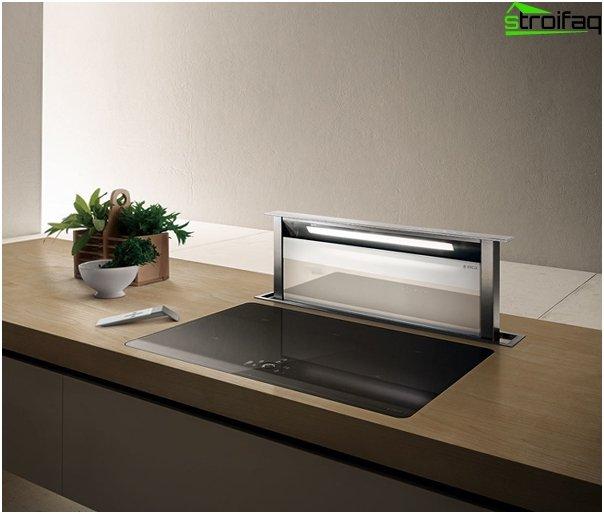 Einbauhaube für die Küche - 5