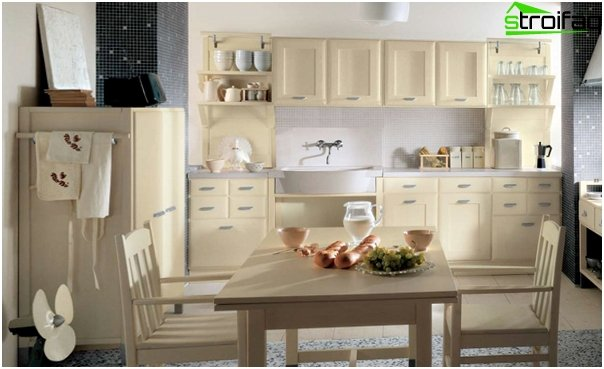 Complete kitchen (country) - 1