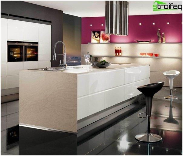 High-tech style kitchen - 1