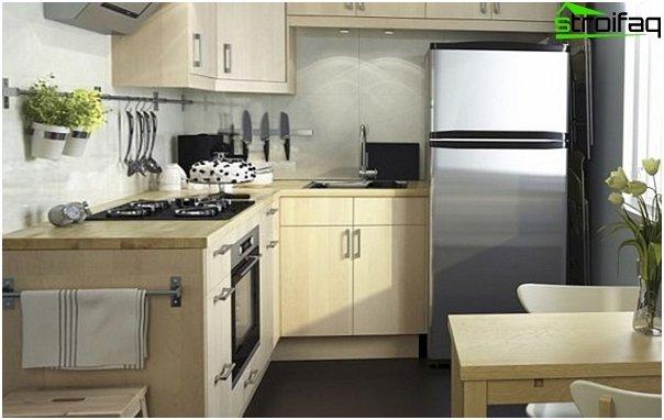 Ikean keittiökalusteet (kulma) - 9