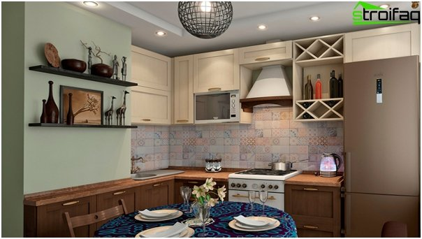 Complete kitchen (ethnic) - 1