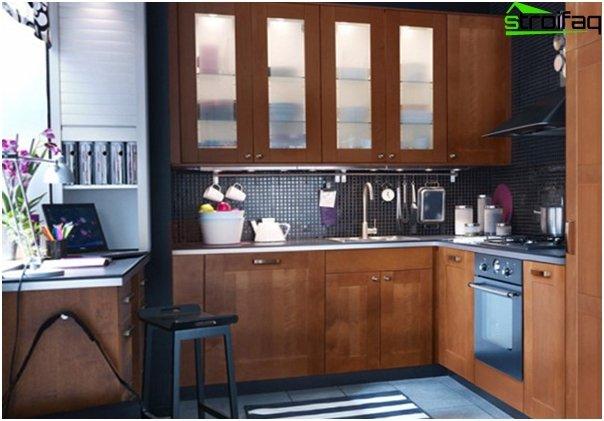 Ikean keittiökalusteet (kulma) - 10