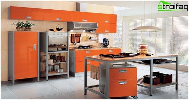 Kitchen in yellow tones - 4