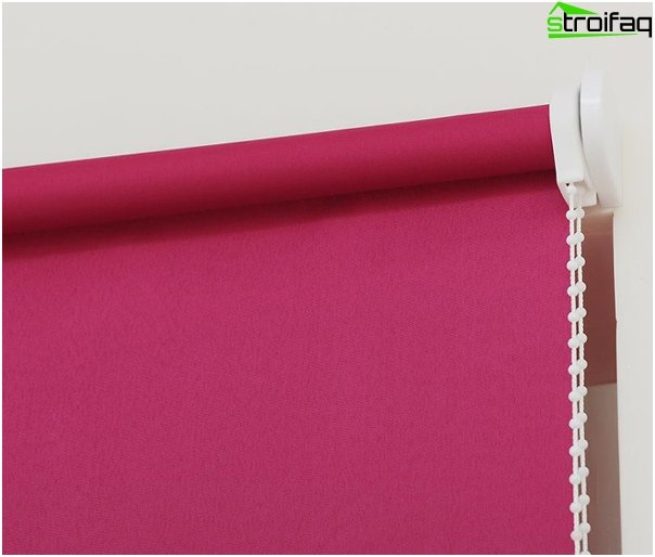 Fabric roller blinds - photo 1