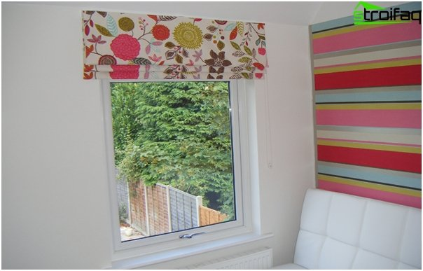 Fabric roller blinds - photo 2
