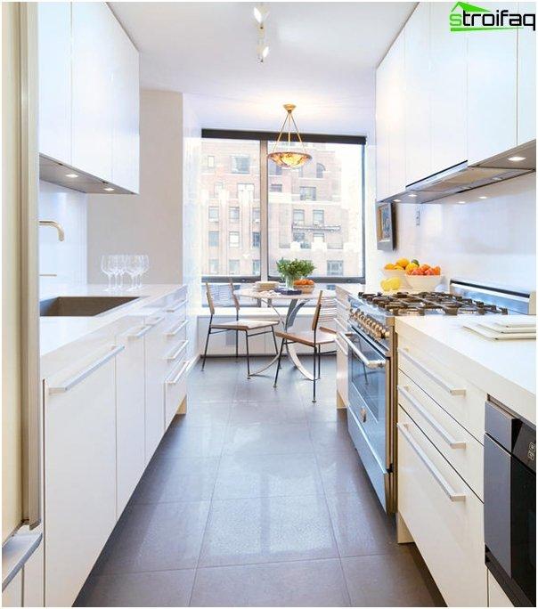 Ikean keittiökalusteet (yhdensuuntainen asettelu) - 2