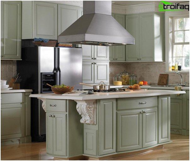 Kitchen appliances (range hood) - 7