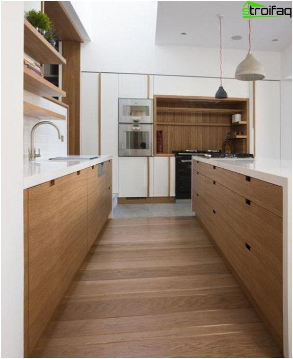 Ikean keittiökalusteet (yhdensuuntainen asettelu) - 5