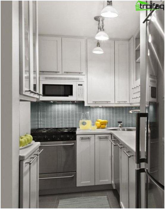 Ikean U-muotoinen keittiö - 2