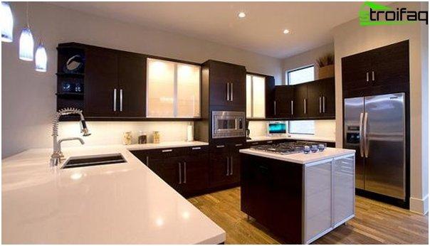 Ikean U-muotoinen keittiö - 3
