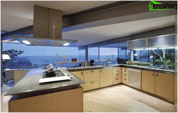 Ikean U-muotoinen keittiö - 5