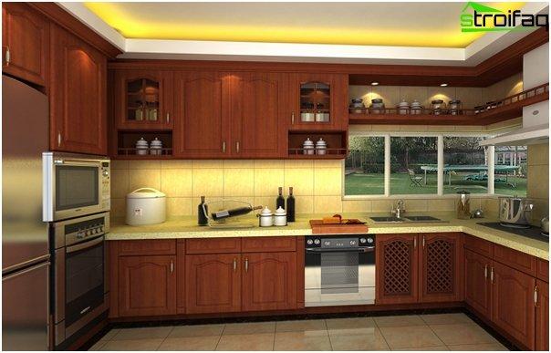 Ikean keittiökalusteet (U-muotoinen asettelu) - 1