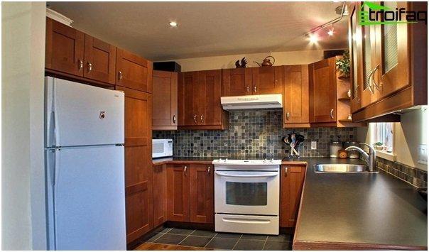 Ikean keittiökalusteet (U-muotoinen asettelu) - 5