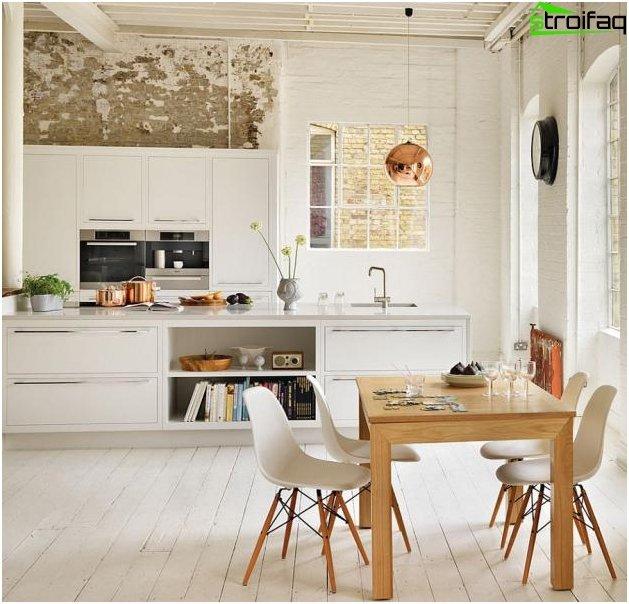 Spisebord i køkkenet 1