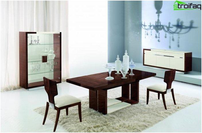 Spisebord i stuen: foto 3